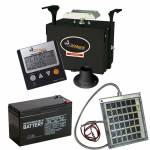 Wildgame 12V Digital Premier Deer Feeder Kit Combo with Battery and Solar Panel