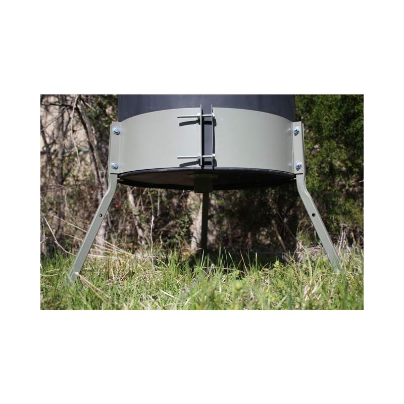 Deer Feeder 55 Gallon Barrel Band