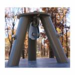 Feeder/Cleaning Station Tripod Header with Pulley