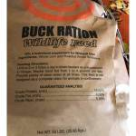 Buck Ration 16% Protein Wildlife Feed - 50lb Bag