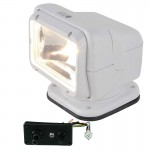 Dash Mount Motorized Spotlight - White