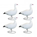 Hardcore Full Body Snow Goose Sentry Decoys - 4 Pack