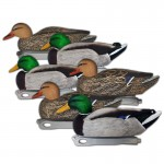 Hardcore Duck Decoys - Mallards Pre Rigged 6 Pack
