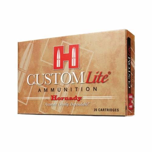Hornady Custom Lite 7mm-08 120gr SST Ammunition - 20 Rounds