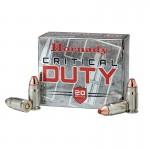 Hornady Critical Duty 9mm+P Flexlock 135gr - 25 Rounds