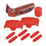 Hoyt LimbShox 10-Piece Red Color Kit - Right Hand