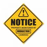 Moultrie Camera Surveillance Signs (3 Pack)