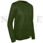 PolarMax Men's Microfleece Base Layer Shirt - Medium Olive Drab