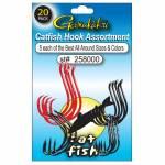 Gamakatsu Catfish Hook Assortment - 20 Hooks