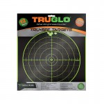 Truglo Tru-See Target 100yd 12x12 - 12-Pack