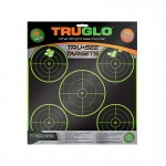 Truglo Tru-See 5 Bull Targets 12x12 - 6-Pack