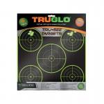 Truglo Tru-See 5 Bull Targets 12x12 - 6-Pack