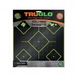 Truglo Tru-See 5 Diamond Targets 12x12 - 12-Pack