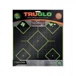 Truglo Tru-See 5 Diamond Targets 12x12 - 6-Pack