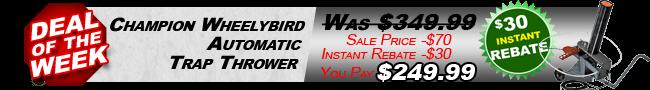 Champion Wheelybird $30 Instant Rebate
