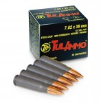TulAmmo 7.62 x 39 FMJ 122gr - 100 Rounds
