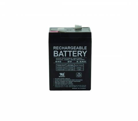 Universal Battery 6 Volt Rechargeable Battery - 4 5 AH