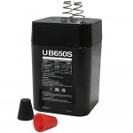 Universal 6v Spring Top Rechargeable Battery