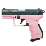Walther Arms PK380 Pistol .380 ACP 3.66in 8+1 Pink
