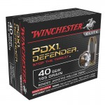 Winchester Supreme Elite .40 S&W 165 gr. Bonded PDX - 20 Rounds