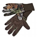 Mossy Oak Mesh Gloves with Grip Palms - Small